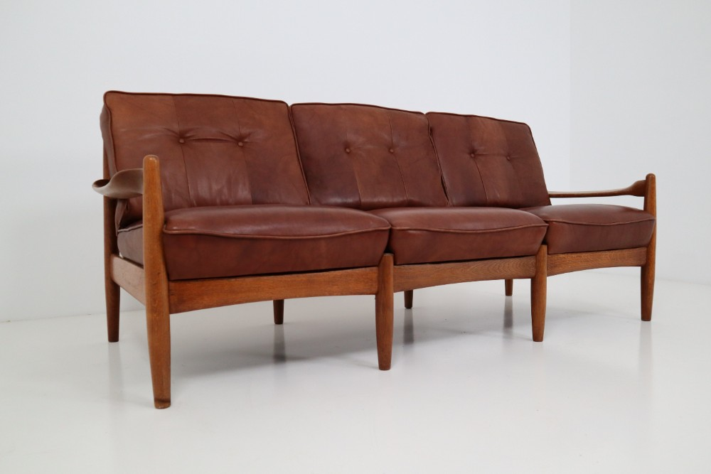 Wondrous Mid Century Modern Leather Sofa Mid 20Th Century Sofas And Pdpeps Interior Chair Design Pdpepsorg