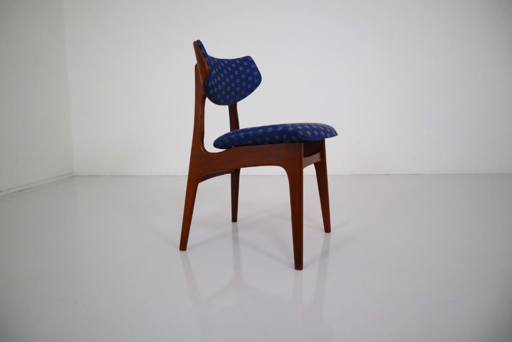 Scandinavian modern Teak Scandinavian Diner Chairs in Teak ...